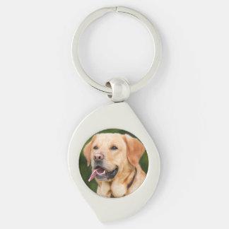 Chaveiro Labrador dourado lindo