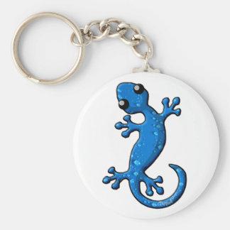 Chaveiro Lagarto azul do geco da chuva