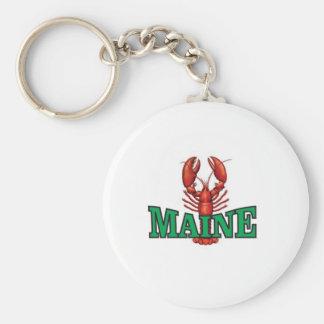 Chaveiro lagosta verde de Maine