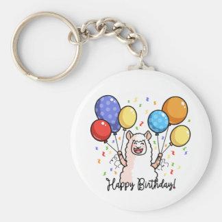Chaveiro Lama do feliz aniversario