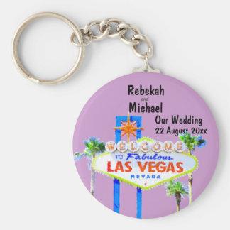 Chaveiro Las Vegas que Wedding a data