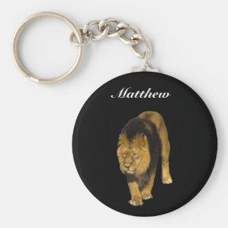 Chaveiro Leão africano personalizado