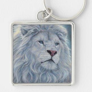 Chaveiro Leão branco