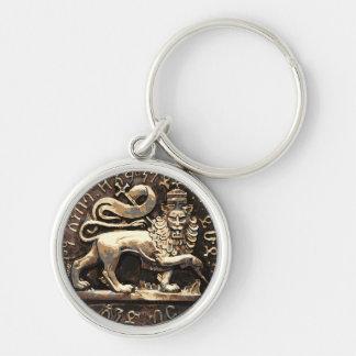 Chaveiro Leão etíope antigo de Rasta da corrente chave de