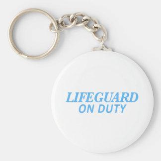 Chaveiro Lifeguard no impressão do dever