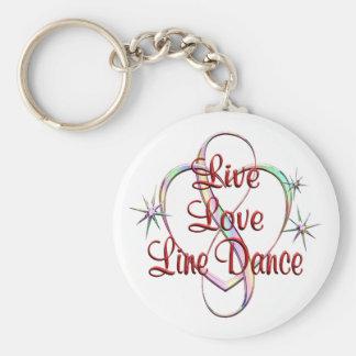 Chaveiro Linha viva dança do amor