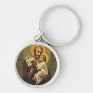 Chaveiro Lírio de Jesus do bebê de St Joseph