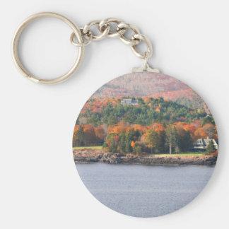 Chaveiro litoral de Maine