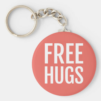 Chaveiro livre do botão dos abraços