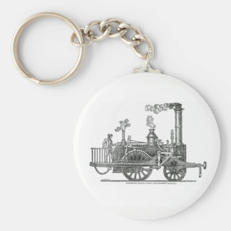 Chaveiro Locomotiva de vapor adiantada