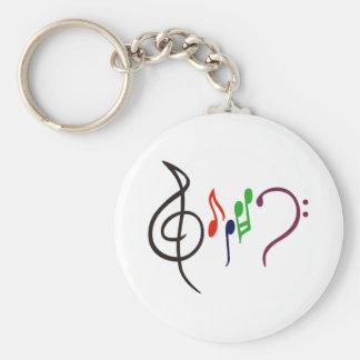 Chaveiro Logotipo abstrato da música