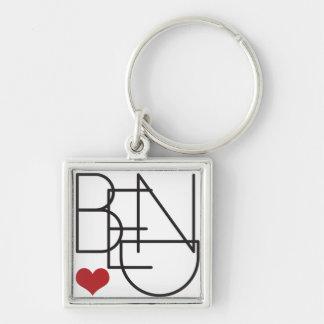 Chaveiro Logotipo do coração da palavra de Oregon da