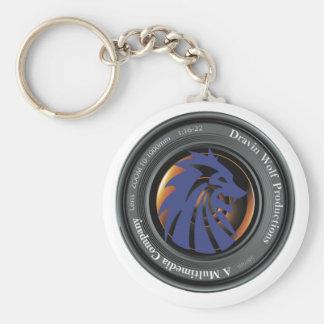 Chaveiro Logotipo do oficial das produções do lobo de