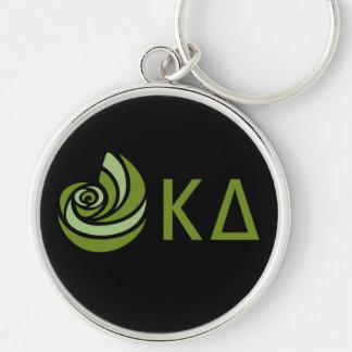 Chaveiro Logotipo grande de Lil do delta do Kappa