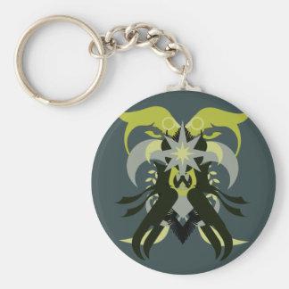 Chaveiro Loki da abstracção sete