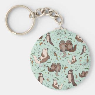 Chaveiro Lontras de mar
