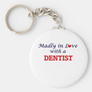 Chaveiro Louca no amor com um dentista