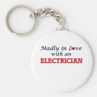 Chaveiro Louca no amor com um eletricista