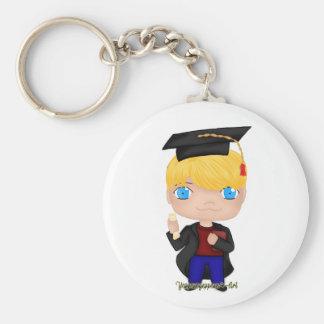Chaveiro Louro do menino da graduação (b)