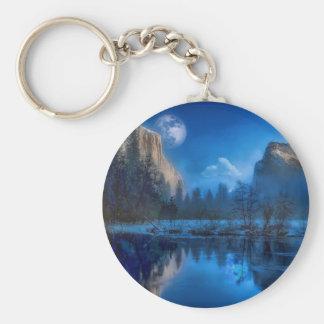Chaveiro Lua cheia em Yosemite