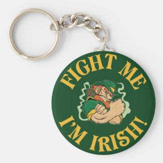 Chaveiro Lute-me que eu sou irlandês - o dia de Patrick de