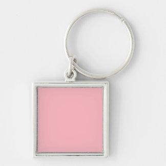 Chaveiro Luz - metal cor-de-rosa