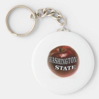 Chaveiro Maçã do vermelho do estado de Washington