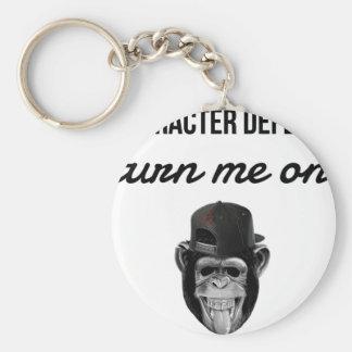 Chaveiro macaco do defeito
