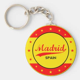 Chaveiro Madrid, Spain, circle, red