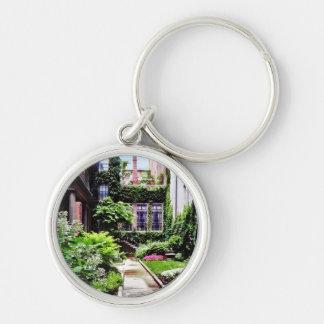 Chaveiro MÃES de Boston - jardim escondido