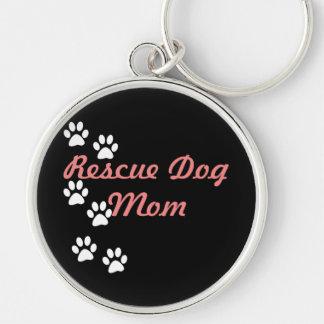 Chaveiro Mamã do cão do salvamento