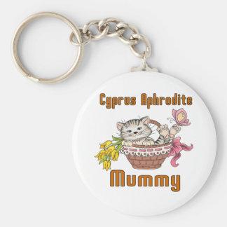 Chaveiro Mamã do gato do Afrodite de Chipre
