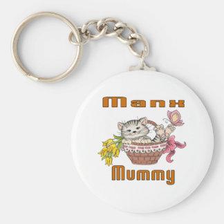 Chaveiro Mamã do gato Manx