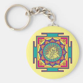 Chaveiro Mandala de Ganesha