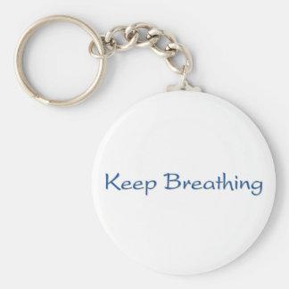 Chaveiro Mantenha respirar