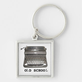 """Chaveiro manual da """"velha escola"""" da máquina de es"""