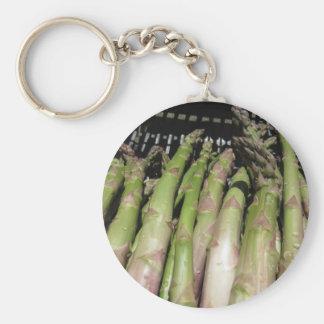Chaveiro Mão fresca do aspargo escolhida do jardim