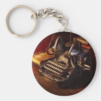 Chaveiro Máquina de dactilografia de Steampunk - de Oliver