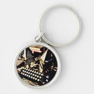Chaveiro Máquina de escrever antiga Oliver #9