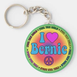 Chaveiro Máquinas de lixar de Bernie para o presidente