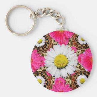 Chaveiro Margarida de Shasta & presentes cor-de-rosa do