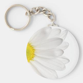 Chaveiro Margaridas personalizadas fundo da flor da