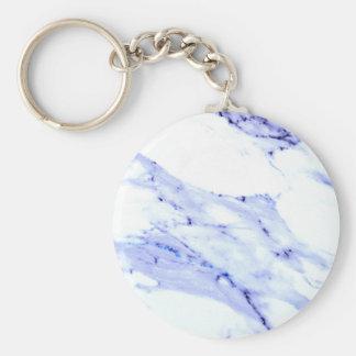 Chaveiro Mármore azul e branco
