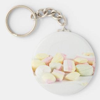 Chaveiro Marshmallows dos doces
