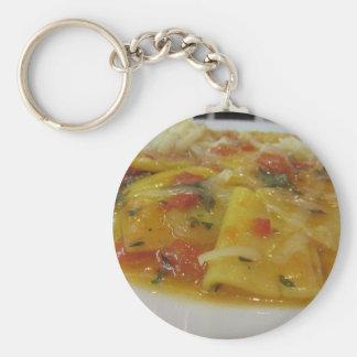 Chaveiro Massa caseiro com molho de tomate, cebola,