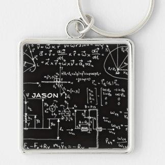 Chaveiro Matemática Geeky da matemática personalizada