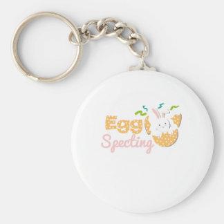 Chaveiro Maternidade de Specting do ovo - gravidez