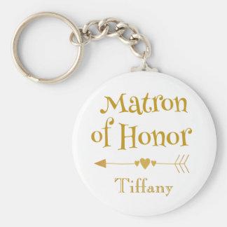 Chaveiro Matrona de presentes da honra