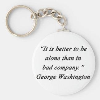 Chaveiro Mau Empresa - George Washington