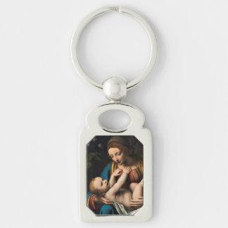 Chaveiro MED Kristusbarnet de Madonna